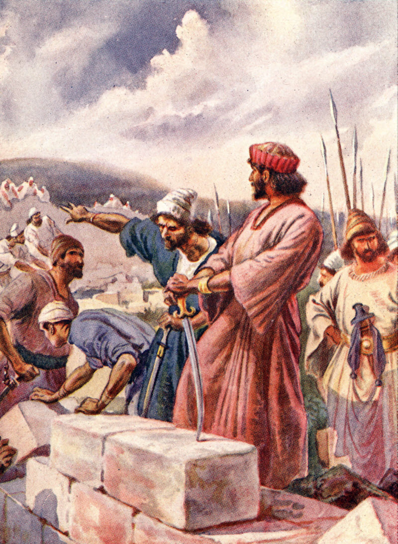 judaism and nehemiah Encyclopedia of jewish and israeli history, politics and culture, with biographies, statistics, articles and documents on topics from anti-semitism to zionism.
